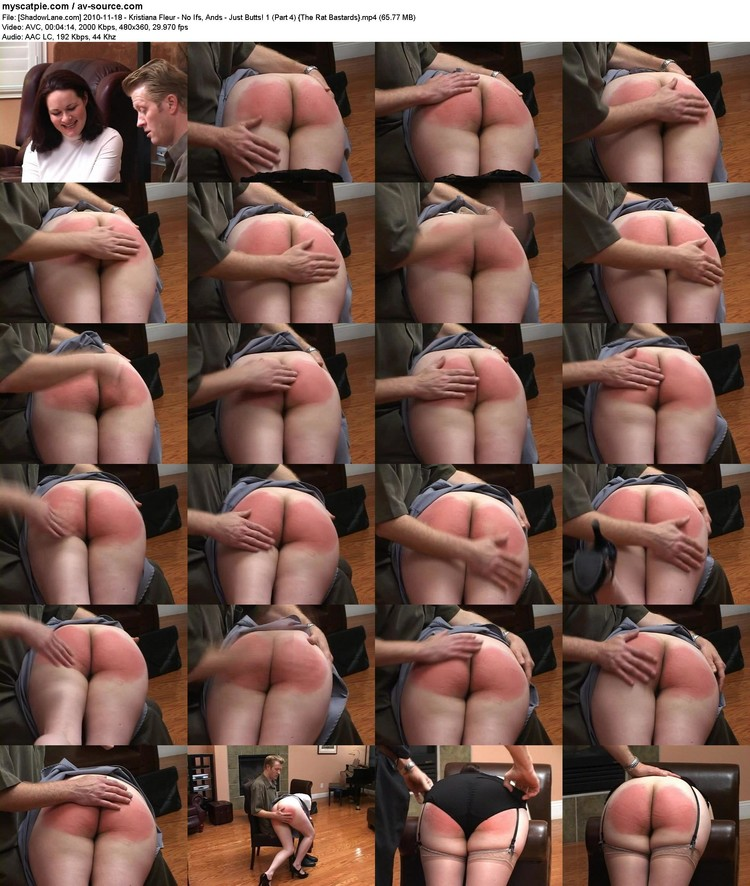 [shadowlane.com] 2010-11-18 - Kristiana Fleur - No Ifs, Ands - Just Butts! 1 (part 4)  (65.77 Mb, Avc, 480x360)