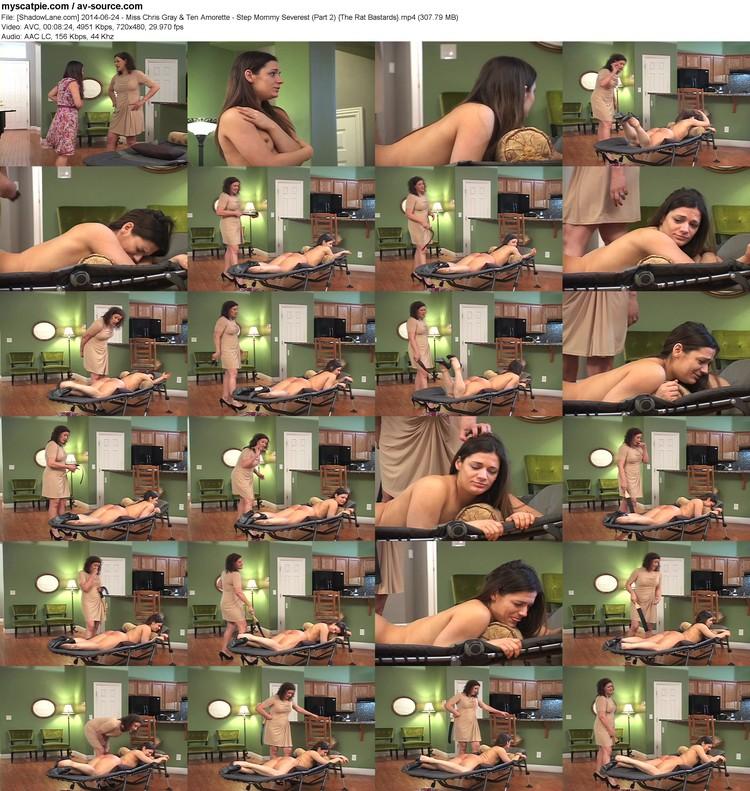 [shadowlane.com] 2014-06-24 - Miss Chris Gray & Ten Amorette - Step Mommy Severest (part 2)  (307.79 Mb, Mp4, 720x480)