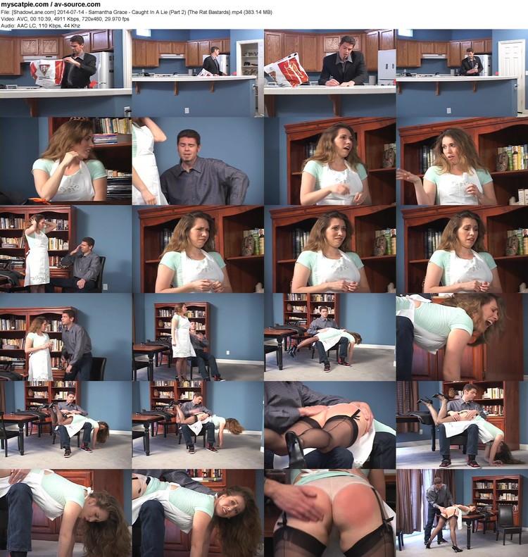 [shadowlane.com] 2014-07-14 - Samantha Grace - Caught In A Lie (part 2)  (383.14 Mb, Mp4, 720x480)