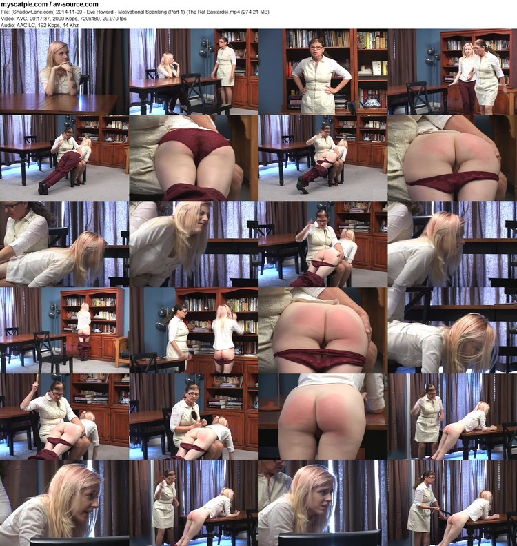 [shadowlane.com] 2014-11-09 - Eve Howard - Motivational Spanking (part 1)  (mp4, 480p, 274.21 Mb)