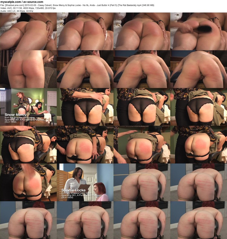 [shadowlane.com] 2015-02-08 - Casey Calvert, Snow Mercy & Sophia Locke - No Ifs, Ands - Just Butts! 4 (part 5)  (720x480, 346.96 Mb, Mp4)