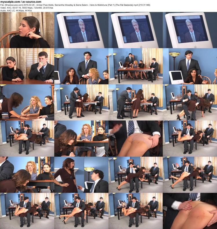[shadowlane.com] 2015-02-26 - Amber Pixie Wells, Samantha Woodley & Sierra Salem - Heirs To Misfortune (part 1)  (210.31 Mb, Mp4, 720x480)