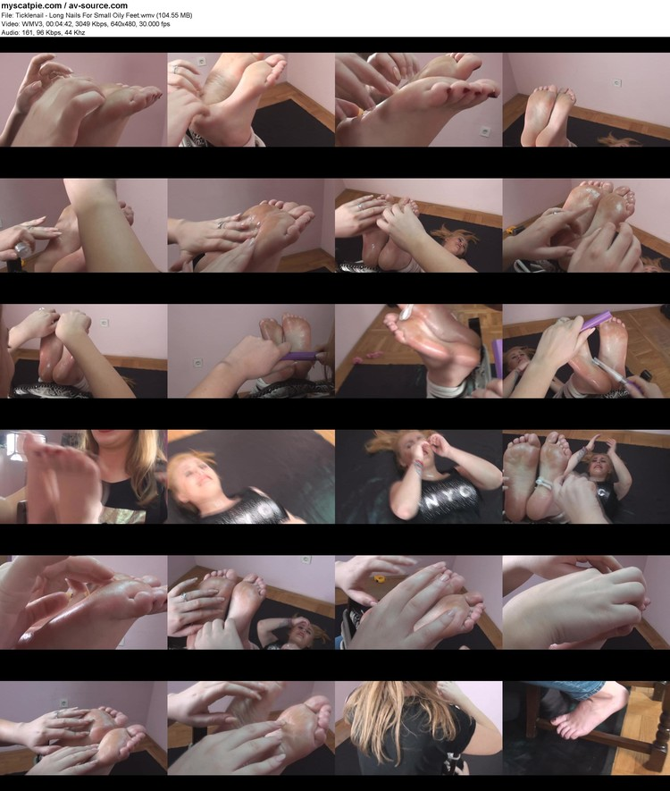 ticklenail - Long Nails For Small Oily Feet (wmv, 480p, 104.55 Mb)